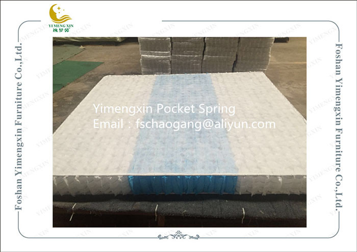 Individually Wrapped Mattress Pocket Coil Spring High Carbon Steel Wire Material