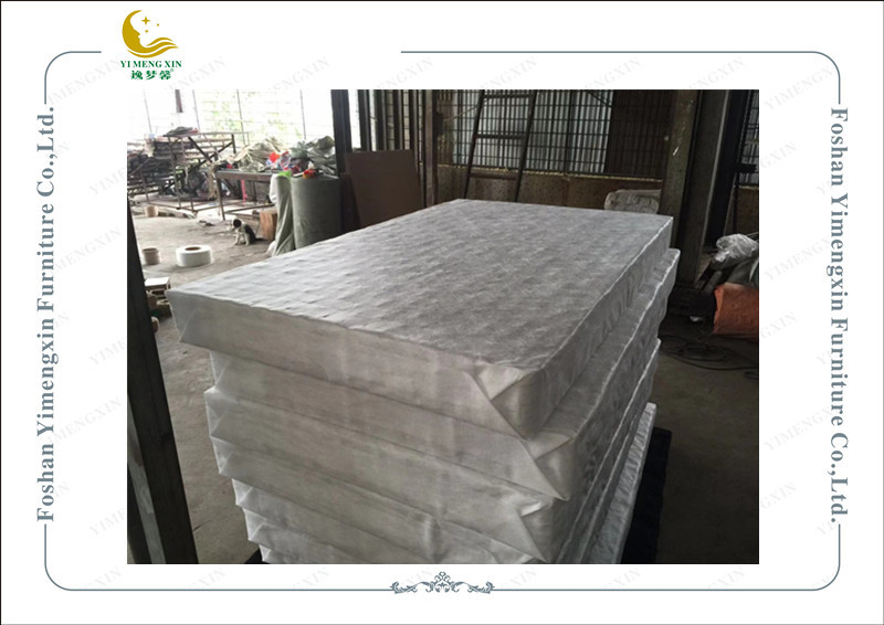 Six Mattress Roll Up Individual Pocketed Spring 100% Plastic Filiform Fabric
