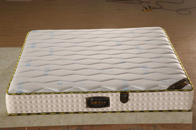 Quiet Sleeping Bonnell Spring Mattress With Memory Form High Density